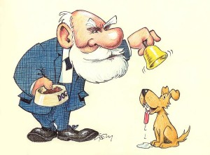 Pavlov et son chien ...